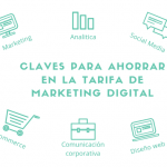 Las claves para ahorrar en tus tarifas de Marketing digital