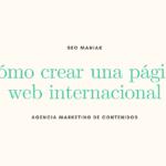 Cómo crear una página web internacional