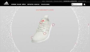 Página web Adidas