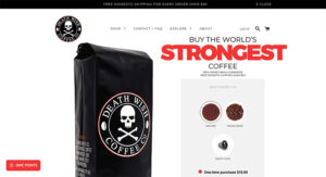 Death Wish Coffee Company, lider ecommerce