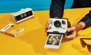 Página web Polaroid